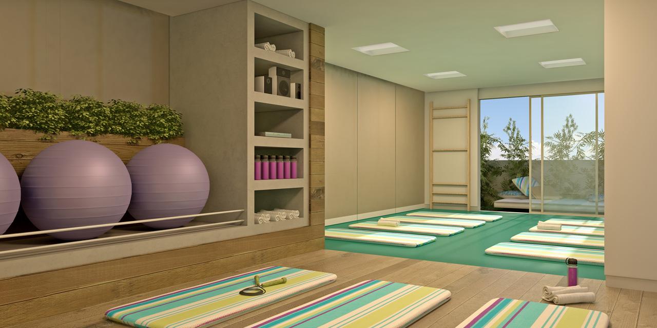 Decoração Yoga ~ Venice Park Hotel Resid u00eancia